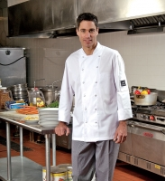 Chef Coat With Mesh
