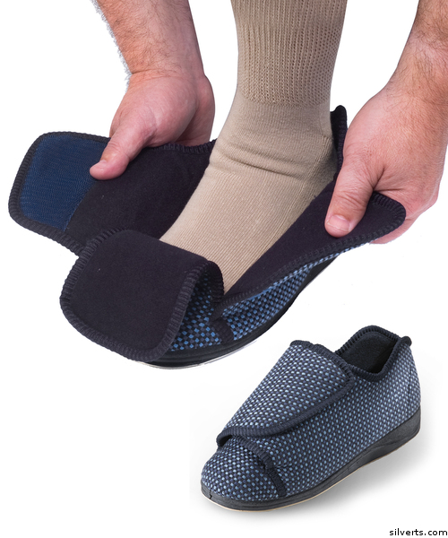 Men S Adaptive Slippers Avida Healthwear Inc