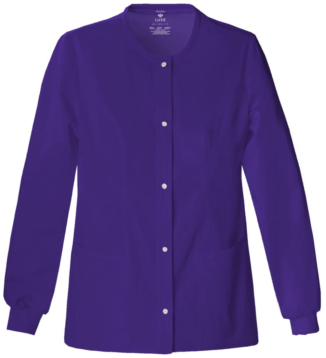 Cherokee Facial Features >> Warm-Up Jacket | Avida Healthwear Inc.