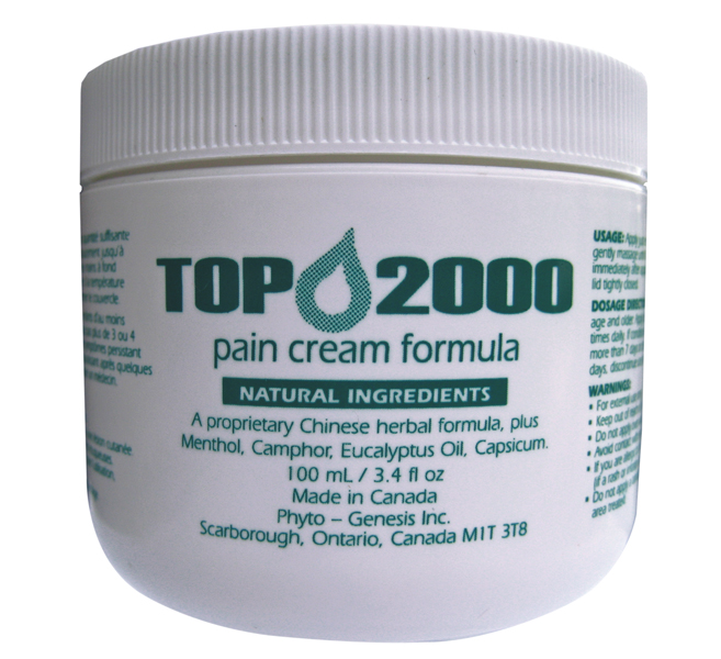 Top 2000 Pain Cream Formula Avida Healthwear Inc