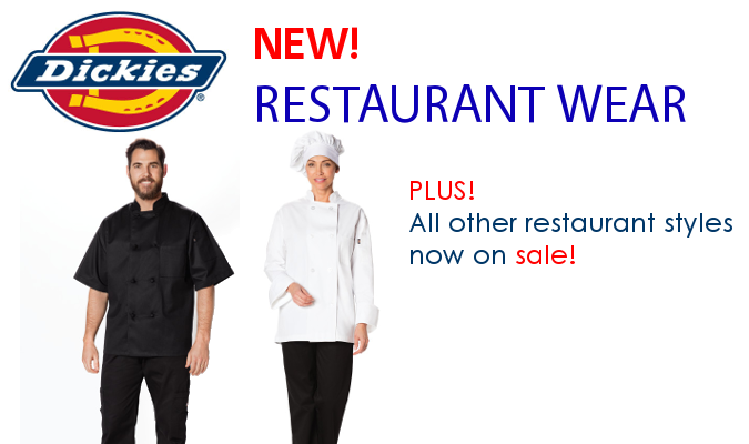 Dickies Chef Wear